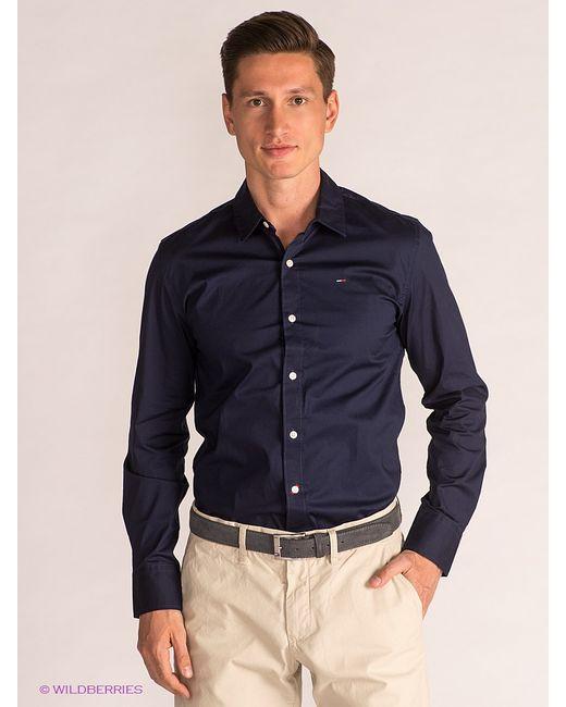 Tommy Hilfiger | Мужские Синие Рубашки