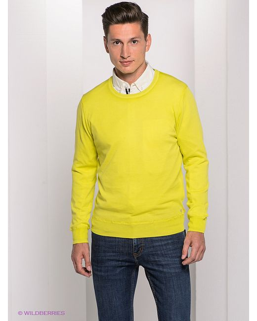 Bogner Jeans | Мужские Салатовые Джемперы