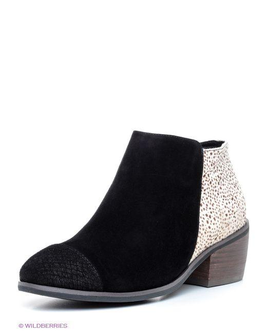 Shoe the Bear | Женские Чёрные Ботильоны