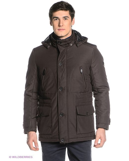 Finn Flare   Мужские Коричневые Куртки