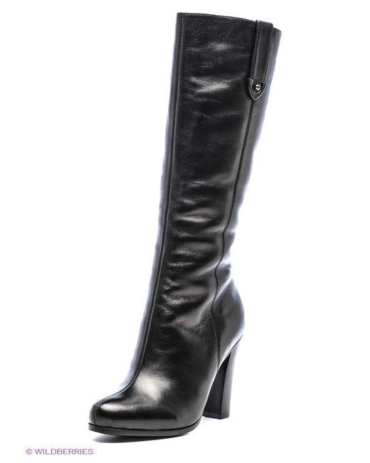 Moda Donna | Женские Чёрные Сапоги