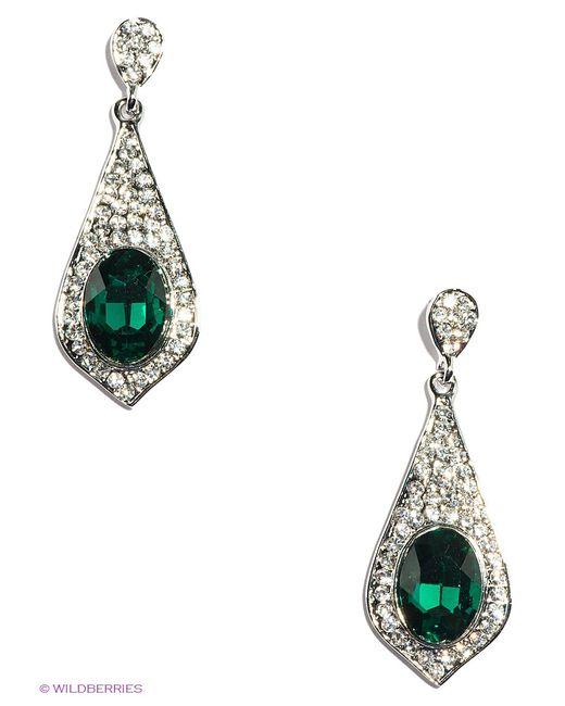 Lovely Jewelry   Женские Зелёные Серьги
