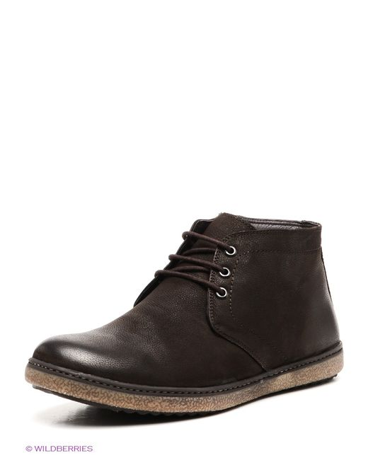 Milana | Мужские Коричневые Ботинки