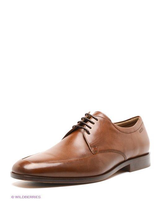 Ecco | Мужские Коричневые Туфли