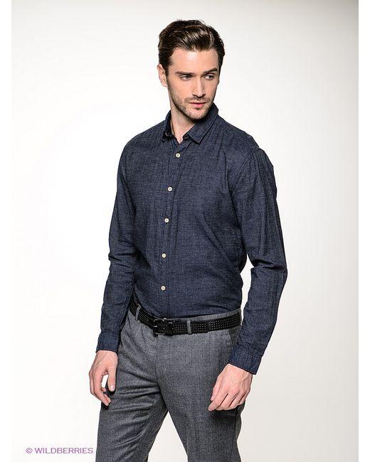 Selected | Мужские Синие Рубашки