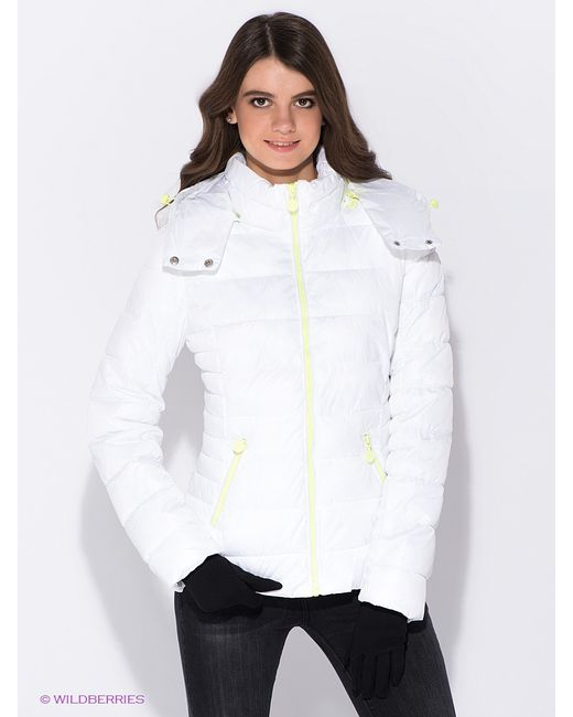 Oodji   Женские Белые Куртки