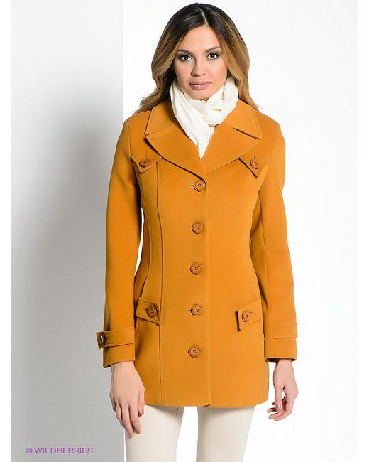 Klimini | Женское Горчичное Пальто