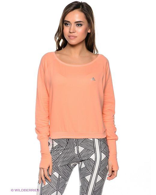 Adidas | Женские Персиковые Джемперы