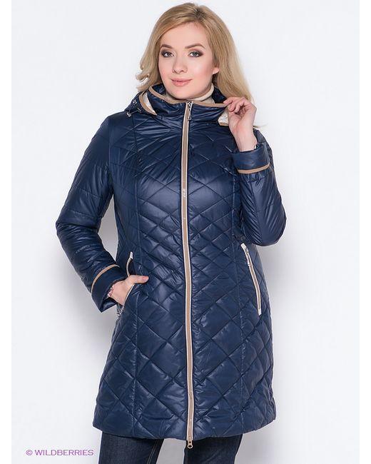 Vlasta   Женское Синее Пальто