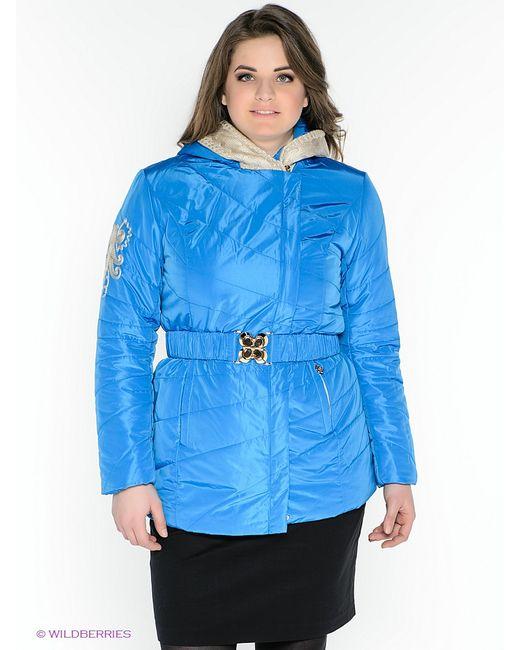 X'cluSIve   Женские Синие Куртки