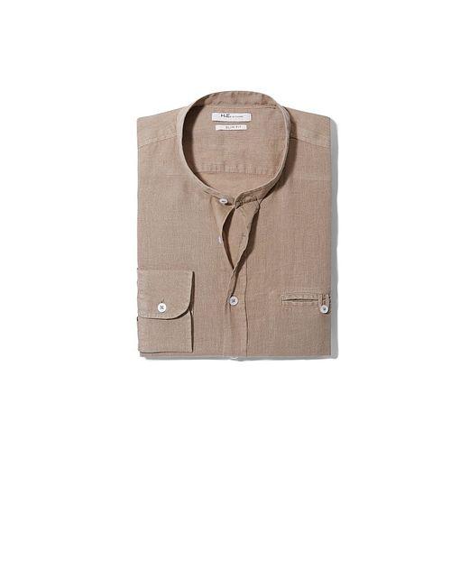 Mango Man | Мужские Коричневые Рубашки