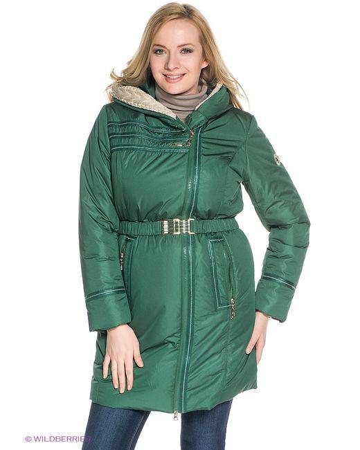 X'cluSIve | Женское Зелёное Пальто