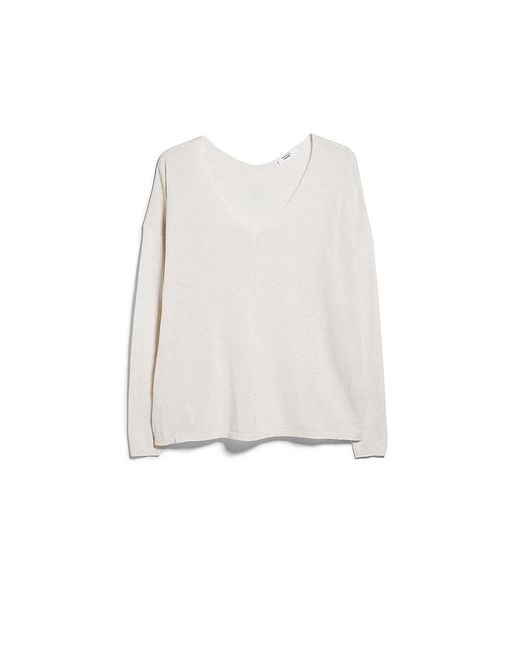Mango | Женские Бежевые Пуловеры