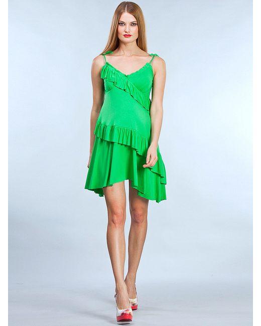 UNIOSTAR | Женские Зелёные Сарафаны