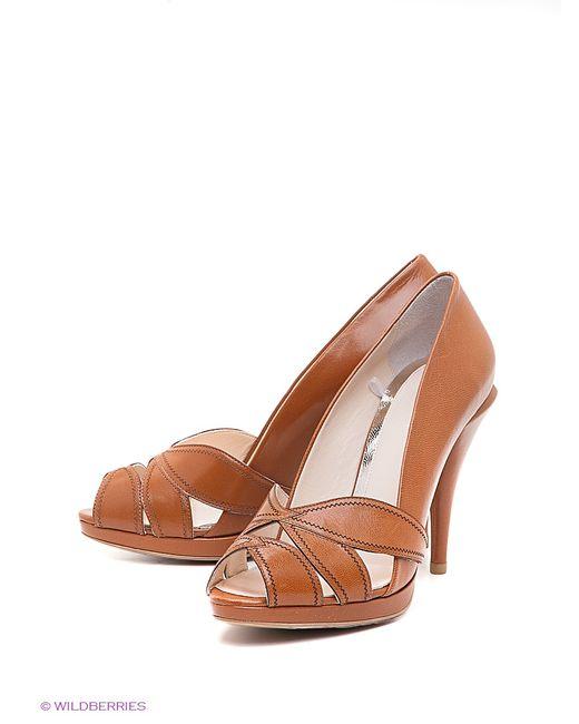 W2 Shoes&Accessories | Женские Коричневые Туфли