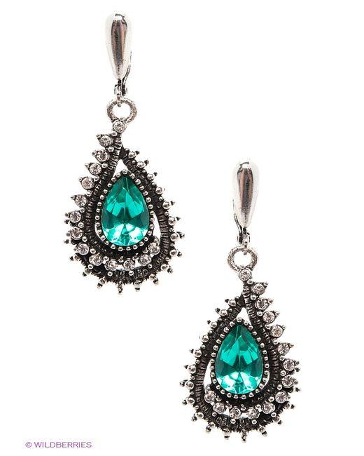 Royal Diamond | Женские Серебристые Серьги