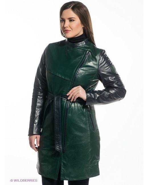 X'cluSIve   Женское Зелёное Пальто