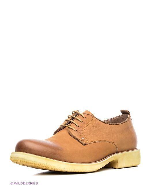 Mario Ponti | Мужские Коричневые Туфли