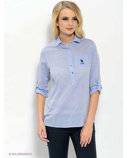 U.S. Polo Assn.   Женские Голубы Рубашки