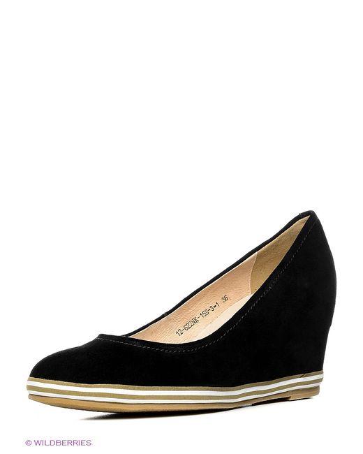 Eva Mayer | Женские Чёрные Туфли