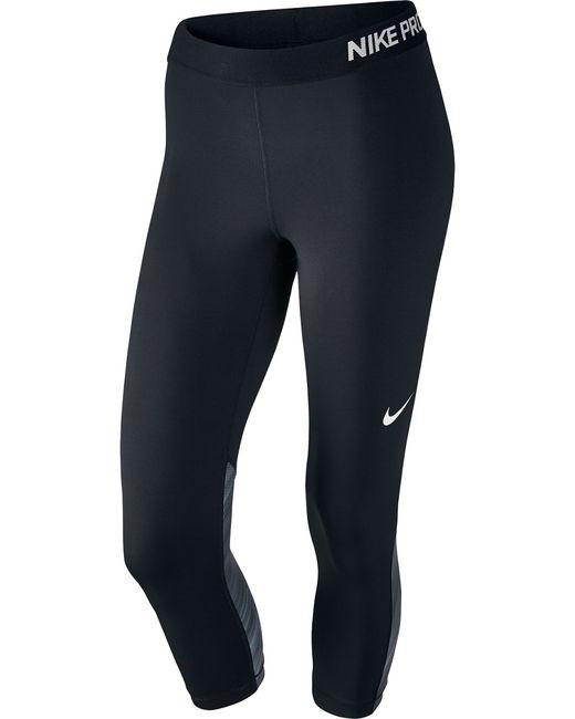 Nike   Женское Чёрное Капри W Np Cl Cpri Light Streak
