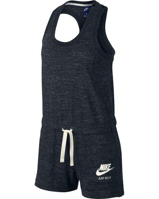 Nike | Женский Серый Комбинезон