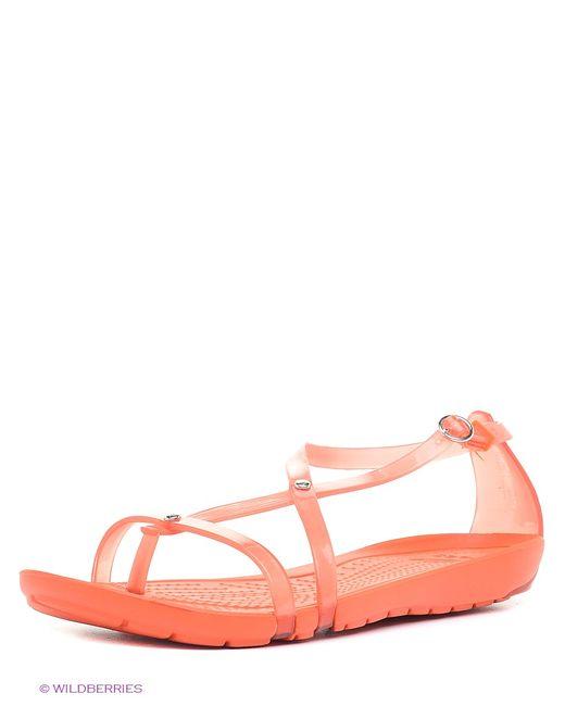 Crocs | Женские Оранжевые Пантолеты