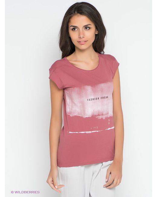 Broadway | Женская Розовая Футболка