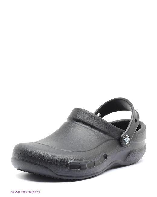 Crocs   Мужское Чёрное Сабо