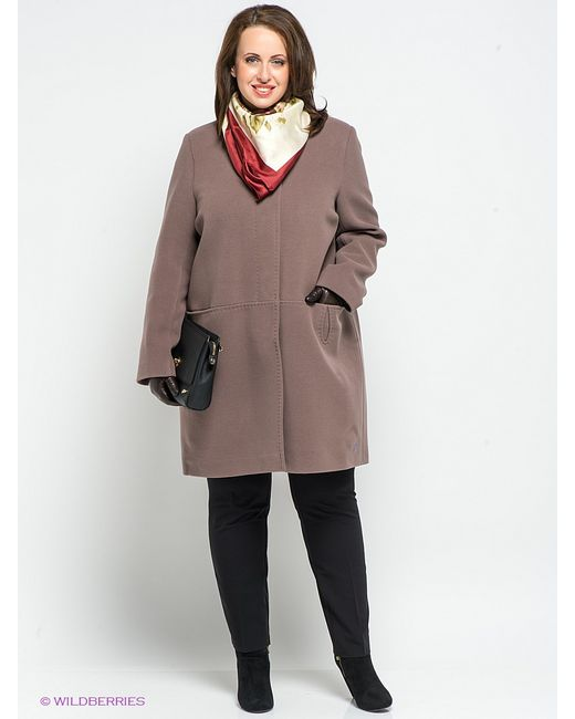 Klimini   Женское Коричневое Пальто