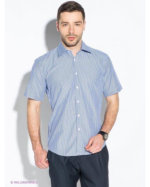 Hans Grubber   Мужские Синие Рубашки