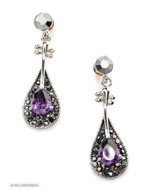 Lovely Jewelry | Женские Фиолетовые Серьги
