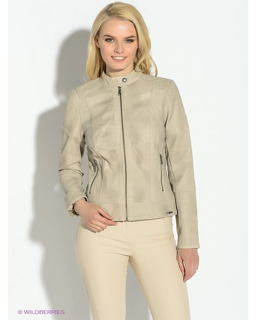 Guess   Женские Бежевые Куртки