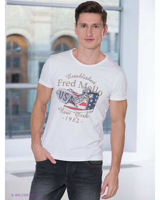 Fred Mello   Мужские Футболки