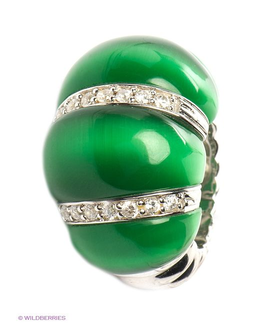 Migura | Женские Зелёные Ювелирные Кольца