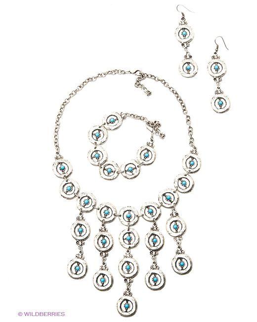 Happy Garnets | Женские Голубы Комплекты Бижутерии