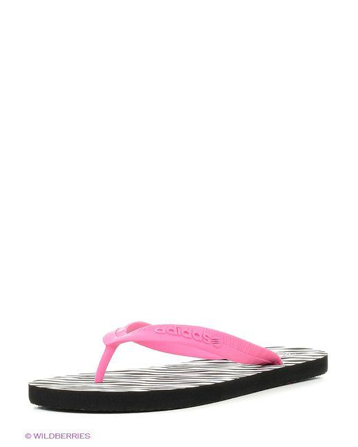 Adidas   Женские Розовые Пантолеты