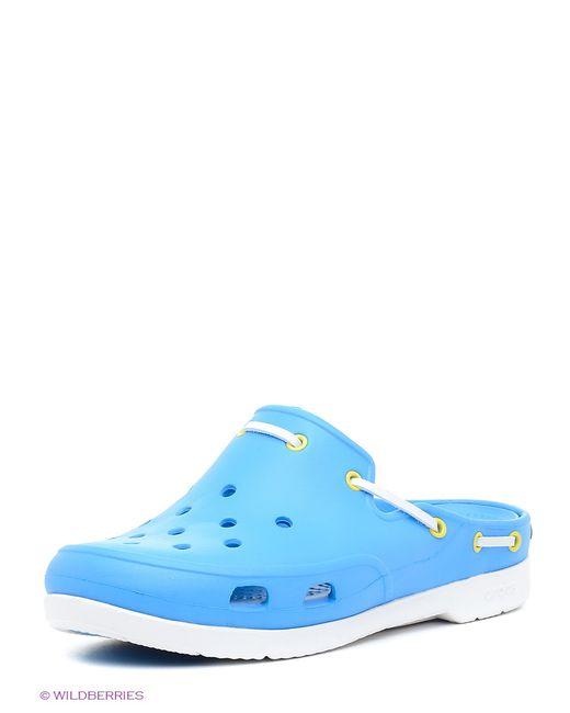 Crocs | Женское Голубое Сабо