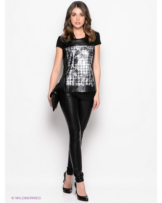 Vero Moda | Женские Чёрные Брюки