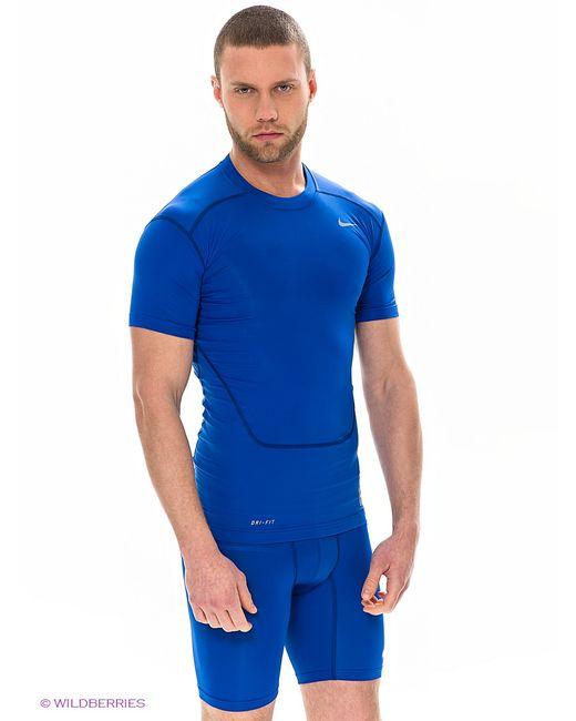 Nike   Мужская Синяя Футболка
