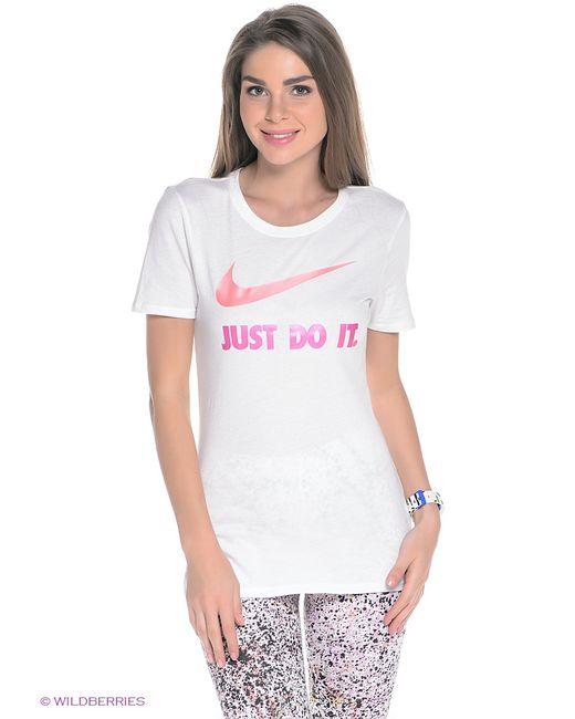 Nike | Женская Белая Футболка