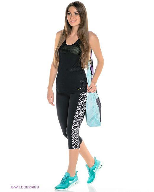 Nike | Женское Чёрное Капри