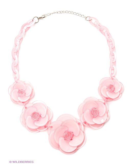 Bijoux Land | Женское Розовое Колье