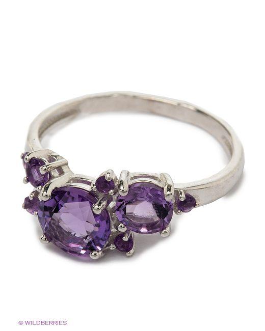 ЭСТЕТ | Женские Фиолетовые Ювелирные Кольца