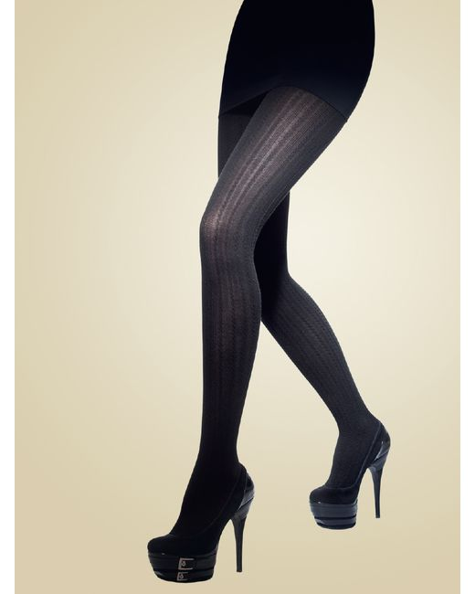 Charmante | Женские Чёрные Колготки