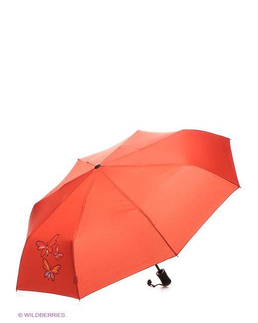 RAINDROPS | Женские Красные Зонты