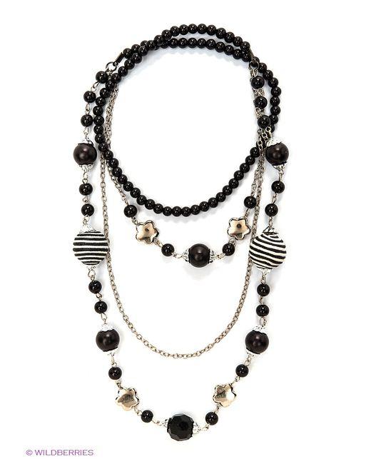 Kawaii Factory | Женские Чёрные Ожерелья