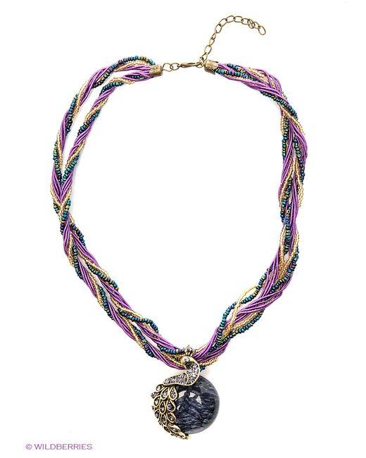 Модные истории   Женские Фиолетовые Ожерелья