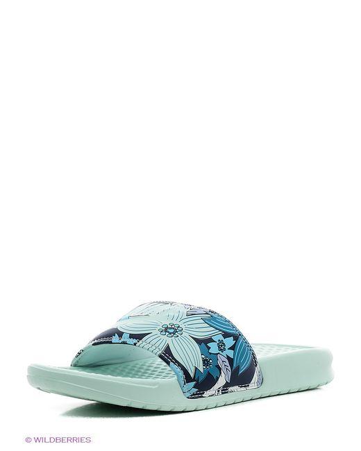 Nike | Женские Голубы Шлепанцы