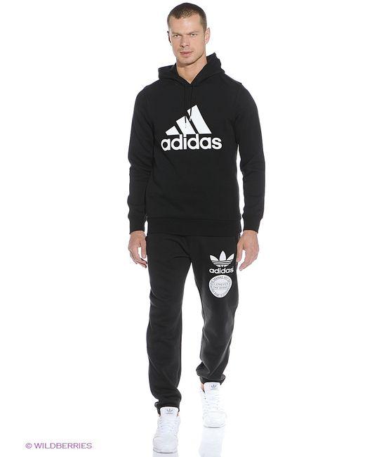 Adidas | Мужские Чёрные Свитшоты
